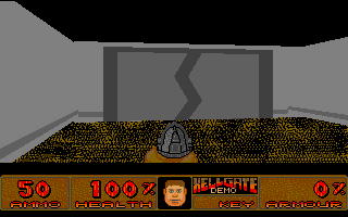 Hellgate atari screenshot